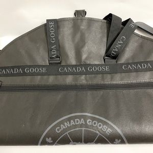 Canada Goose Brand N Black Garment Bag and Hanger